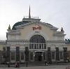 Железнодорожные вокзалы в Усть-Калманке