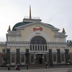 Железнодорожные вокзалы Усть-Калманки